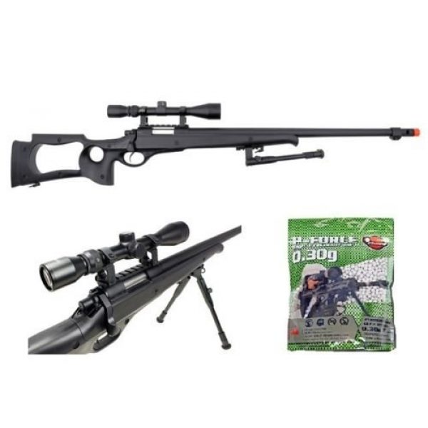 Well Airsoft Rifle 1 Well AWN G22 heavy single bolt action sniper airsoft rifle with 3,300 .30g bb's(Airsoft Gun)