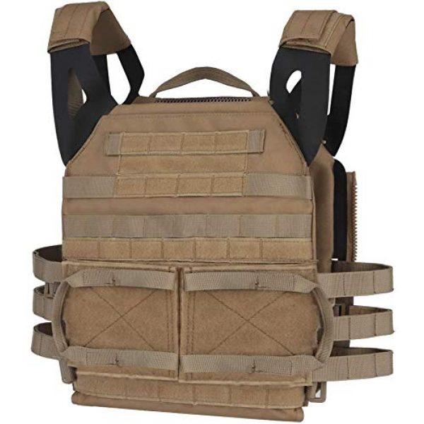 NICEFISH Airsoft Tactical Vest 1 NICEFISH Outdoor Tactical Expansion Protection JPC Vest Version 2.0 Amphibious Combat Vest