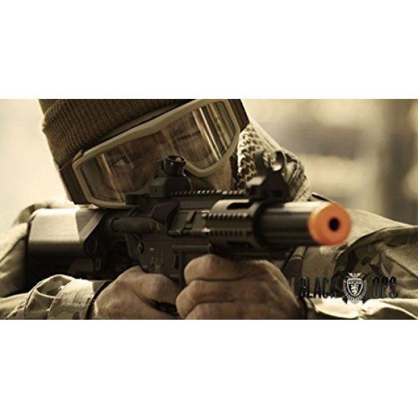 Black Ops Airsoft Rifle 2 Black Ops SR4 CQB AEG Rifle - Electric Fully Automatic Airsoft Gun - .20 .25 BBS