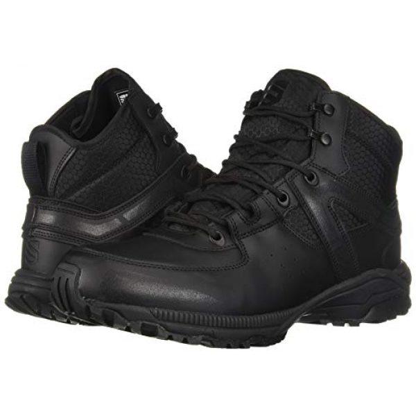 "BLACKHAWK Combat Boot 6 BLACKHAWK! BT06BK115M 6"" Trident Ultralite Boot Black 11.5/Medium 16154"