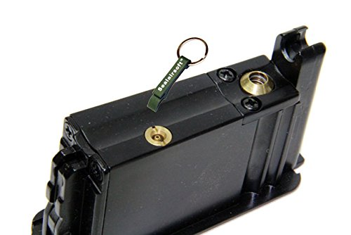 KJW  3 KJ Works 10rds Airsoft Metal 6mm Gas Magazine For M700 -Mobile Ring Included