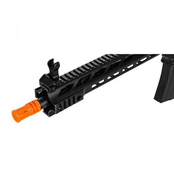 Lancer Tactical Airsoft Rifle 3 Lancer Tactical Interceptor SPR (Black LT-25B)