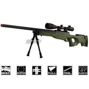 Bravo! Airsoft Rifle 1 Bravo Full Metal MK98 Bolt Action Sniper Rifle (OD/Bipod Package)