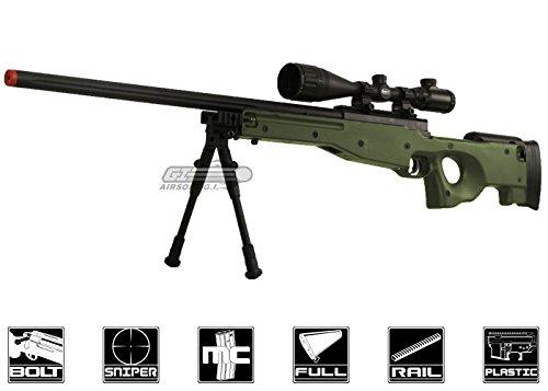 Bravo!  1 Bravo Full Metal MK98 Bolt Action Sniper Rifle (OD/Bipod Package)