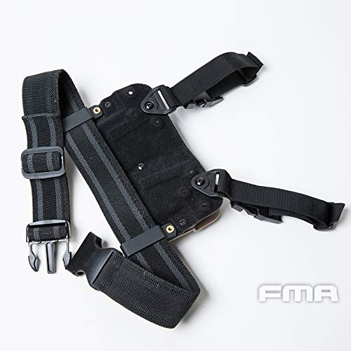 FMA  6 FMA Drop Leg Mag Carrier for Tactical Airsoft Hunting Game DE
