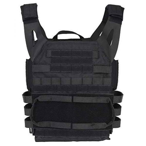 DETECH Airsoft Tactical Vest 2 DETECH Molle Adaptive Vest JPC Tactical Hunting Airsoft Vest Multicam Black