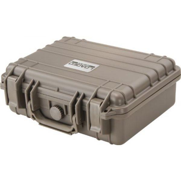 BARSKA Pistol Case 3 Barska Loaded Gear HD-200 Dark Earth Hard Case