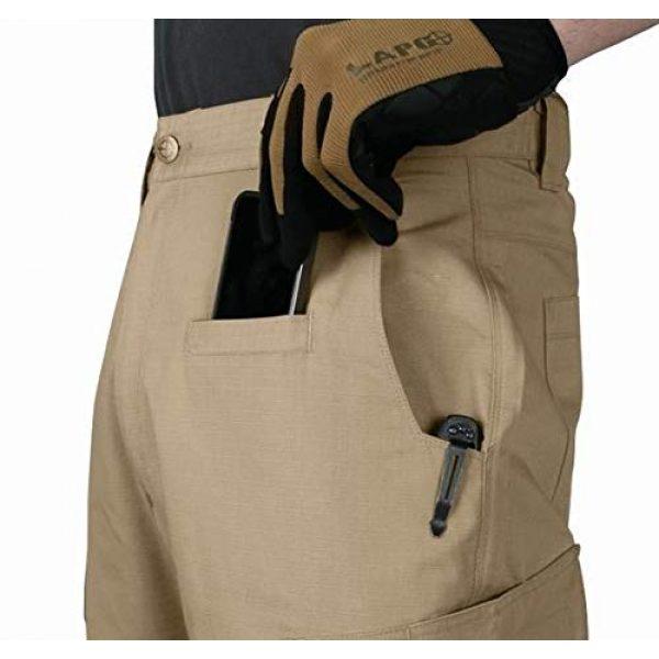 LA Police Gear Tactical Pant 4 Men's Urban Ops Tactical Cargo Pants - Elastic WB - YKK Zipper