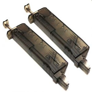 Generica Airsoft BB Speed Loader 1 Generica Airsoft Spare Parts 2pcs Pistol Magazine Shape 90rd Speed BB Loader