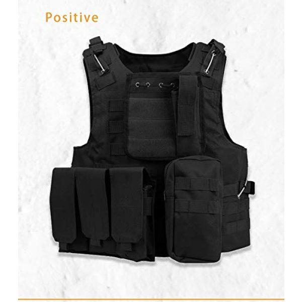 BGJ Airsoft Tactical Vest 6 Tactical Plate Carrier Hunting Vest Military Vest Airsoft Gear Body Armor Army Tactical Vests Military Hunting Accessoris