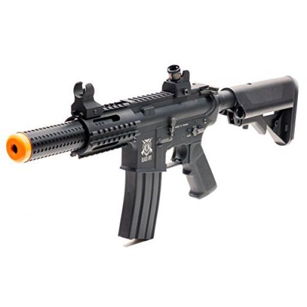 Black Ops Airsoft Rifle 1 Black Ops SR4 CQB AEG Rifle - Electric Fully Automatic Airsoft Gun - .20 .25 BBS
