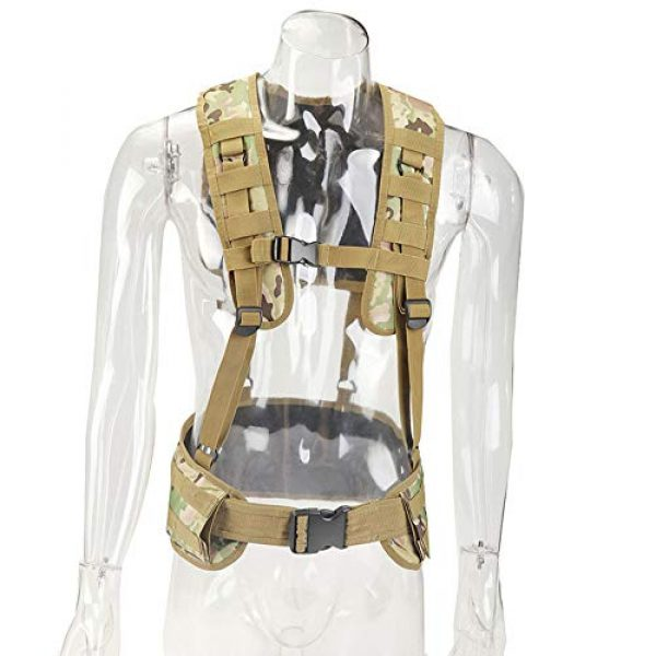 Sunny Airsoft Tactical Vest 1 Outdoor Sports Airsoft Gear Molle Pouch Bag Carrier Camouflage Combat Assault Molle Vest Tactical Chest Rig
