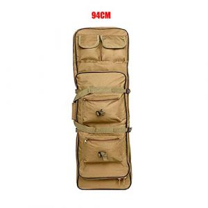 Fouos Rifle Case 1 Fouos Tactical Rifle Case Military Rifle Storage Case M4 Gun Bag Pistol Airsoft Backpack for Hunting Tan 31'', 37'', 47''Inch Sizes