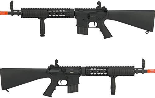 Evike  3 Evike Airsoft - A&K Mk12 SPR Airsoft AEG Sniper Rifle (Model: SPR Mod 1)