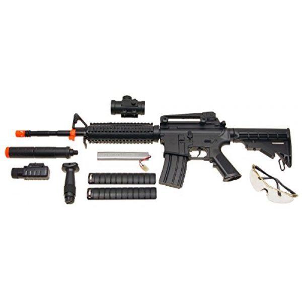 CSI Airsoft Rifle 2 csi aeg-m83 semi/full auto nicads/charger/accessories incl.(Airsoft Gun)