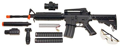CSI  2 csi aeg-m83 semi/full auto nicads/charger/accessories incl.(Airsoft Gun)