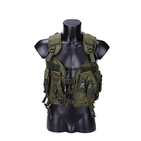 HAOYUN Airsoft Tactical Vest 1 HAOYUN CQB Modular Protective Tactical Vest 97 Seal Water Bag Tactical Vest
