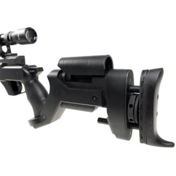 Well Airsoft Rifle 5 Well awn aps2 airsoft sniper rifle bi-pod scope 3,300 .30g bb's extra magazine(Airsoft Gun)