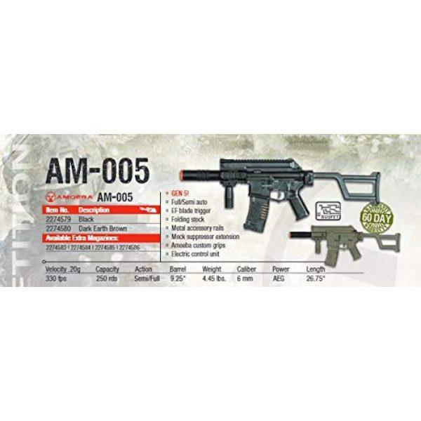 Umarex Airsoft Rifle 3 Amoeba AM-005 AEG Automatic 6mm BB Rifle Airsoft Gun, FDE