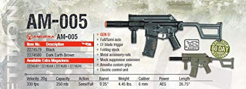 Umarex  2 Amoeba AM-005 AEG Automatic 6mm BB Rifle Airsoft Gun