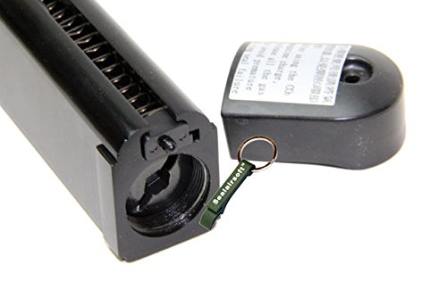 KJW  4 KJ Works 29rds Airsoft Metal 6mm CO2 Magazine For KP05 / KP08 Hi-Capa GBB -Mobile Ring Included