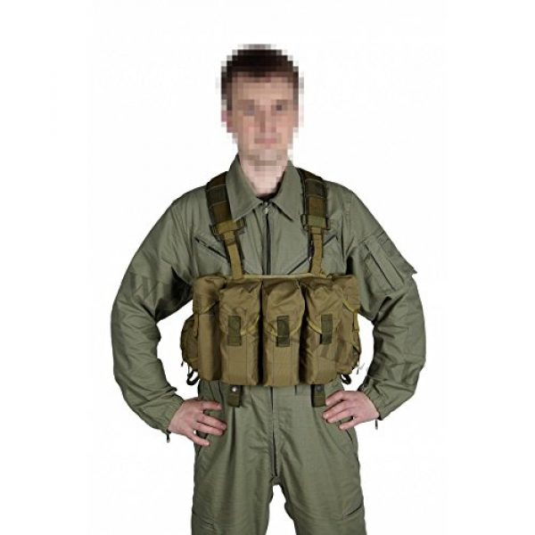 SSO/SPOSN Airsoft Tactical Vest 1 SSO/SPOSN Russian Military Bags for Breast Jaeger (Military Vest)