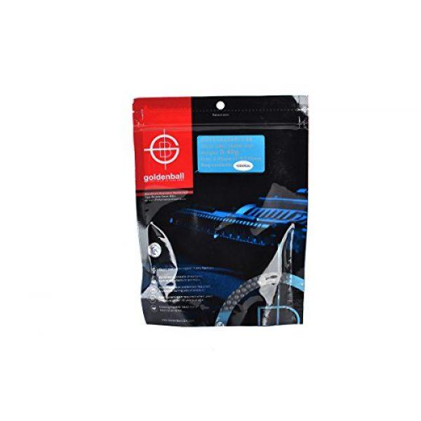 GoldenBall Airsoft BB 1 GoldenBall 0. 40g Biodegradable Airsoft BBS - 1000rd Bag - Black