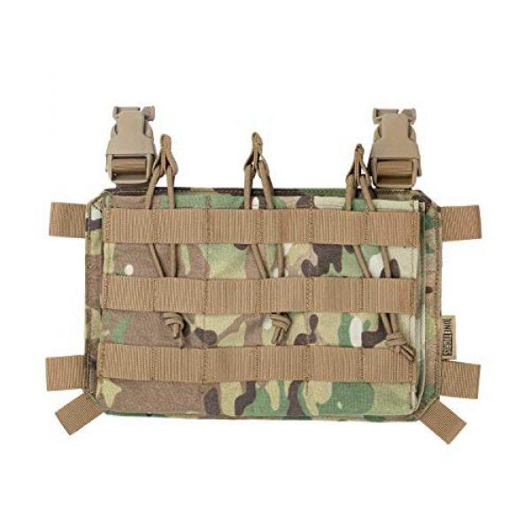 OneTigris Airsoft Tactical Vest 7 OneTigris Multicam Tactical Vest & Triple Rifle Mag Pouch