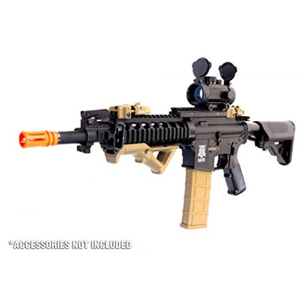 Black Ops Airsoft Rifle 2 Black Ops M4 Diamondback Airsoft AEG Rifle - Automatic Airsoft - Shoot .20 .25