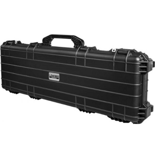 BARSKA Rifle Case 2 BARSKA Loaded Gear Watertight Hard Rifle Case, 44-Inch