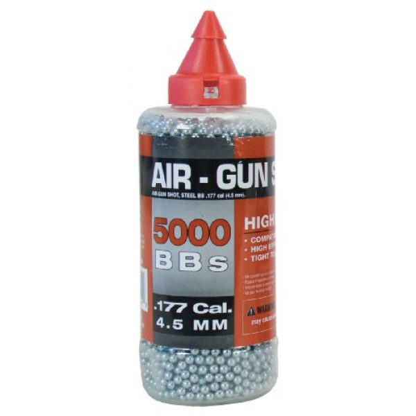 Swiss Arms Airsoft BB 1 Soft Air Swiss Arms Steel BB's .33 gram 5,000 Count