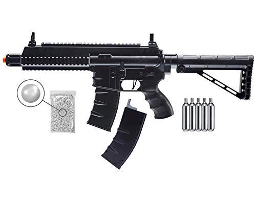 Wearable4U  1 Umarex Tactical Force TF CQB 6mm BB Standard Action Rifle Airsoft Gun Airgun with Wearable4U Bundle