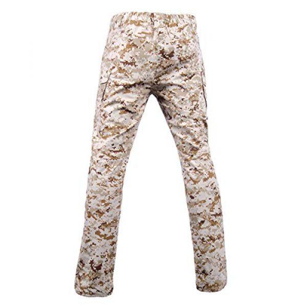 LANBAOSI Tactical Pant 3 Men's Tactical Military BDU Pants Combat Woodland Camo Outdoor Gear Trousers