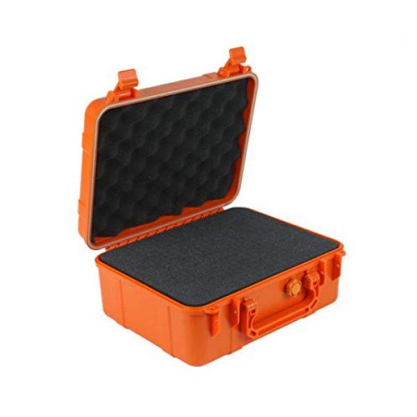 Blackwatch Pistol Case 1 Blackwatch Double Pistol Case - Badass Orange