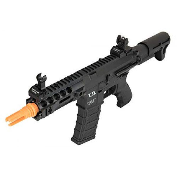 Lancer Tactical Airsoft Rifle 3 Lancer Tactical Classic Army AR4 SBR Light AEG CQB Airsoft Rifle Black 360 FPS