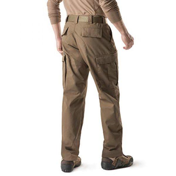 CQR Tactical Pant 2 Men's Tactical Pants, Military Combat BDU/ACU Cargo Pants, Water Repellent Ripstop Work Pants, Hiking Outdoor Apparel