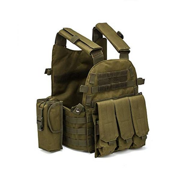 BGJ Airsoft Tactical Vest 3 BGJ Men Military Tactical Vest Paintball Camouflage Molle Hunting Vest Assault Shooting Airsoft Vests Outdoor Clothes Accessories