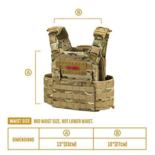 OneTigris Airsoft Tactical Vest 4 OneTigris Multicam Airsoft Vest & Low Profile Tactical Vest