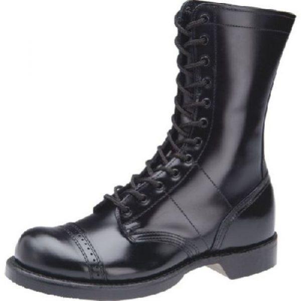 "Corcoran Combat Boot 1 Men's 1500 10"" Jump Work Boot Round Toe - 1500"