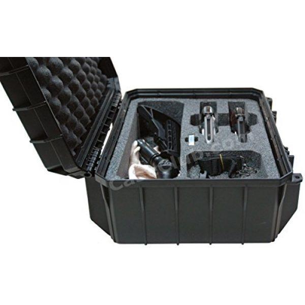 Case Club Pistol Case 3 Case Club Waterproof 2 Revolver/Semi-Auto Case with Accessory Pocket & Silica Gel