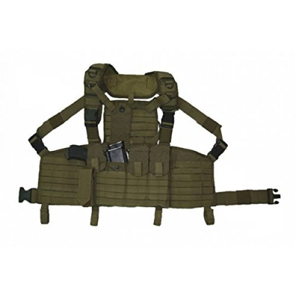 SSO/SPOSN Airsoft Tactical Vest 1 SSO/SPOSN Russian Military Chest Rig Legat M.O.L.L.E