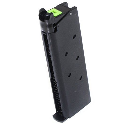 Airsoft Shopping Mall  1 Airsoft Shooting Gear APS 25rd Mag Military Style Turbo Magazine for Tokyo Marui 1911 APS Marcux Crxius GBB Pistol