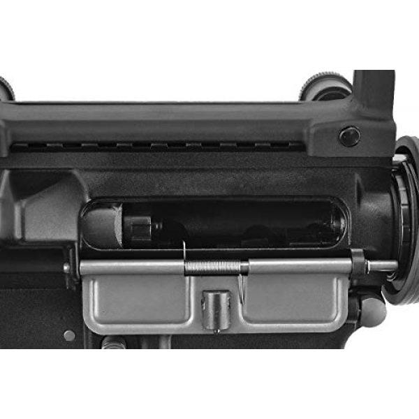 Lancer Tactical Airsoft Rifle 6 Lancer Tactical WE Full Metal M4 CQB RIS Open Bolt Gas Blowback Airsoft Rifle Black 420 FPS
