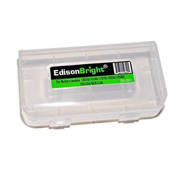 Nitecore Battery Case 1 Nitecore NTC10 Tactical Gear Carry case with EdisonBright BBX3 Battery case