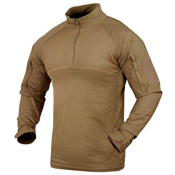 Condor Tactical Shirt 1 Condor Outdoor Combat Shirt (Tan, Large)