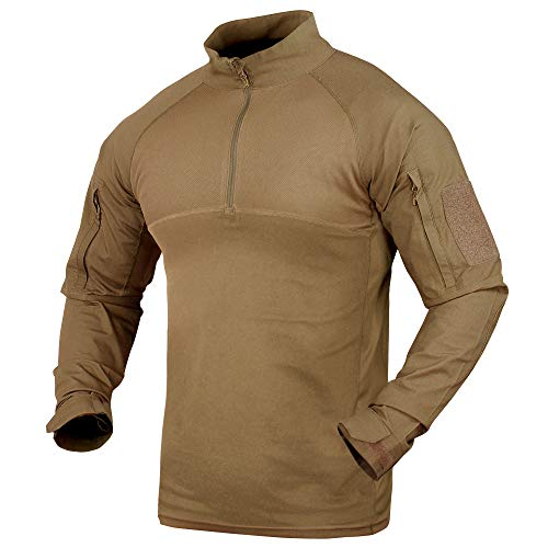 Condor Tactical Shirt 1 Condor Outdoor Combat Shirt (Tan, Large)