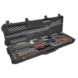 Case Club Rifle Case 1 Case Club Sporting & Hunting Shotgun Pre-Cut Waterproof Case with Accessory Box and Silica Gel to Help Prevent Gun Rust (Gen 2)