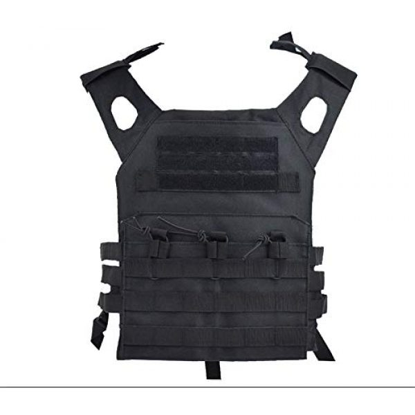 BGJ Airsoft Tactical Vest 7 Hunting Body Armor Plate Carrier Tactical Vest Fashion Outdoor CS Game Paintball Airsoft Vest Military Gear Equipment SAA0095