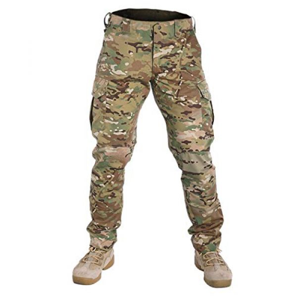 IDOGEAR Tactical Pant 2 GL Tactical Pants Multicam Combat Pants for Airsoft Military Hunting Paintball Outdoor Sports Slim Fit Style