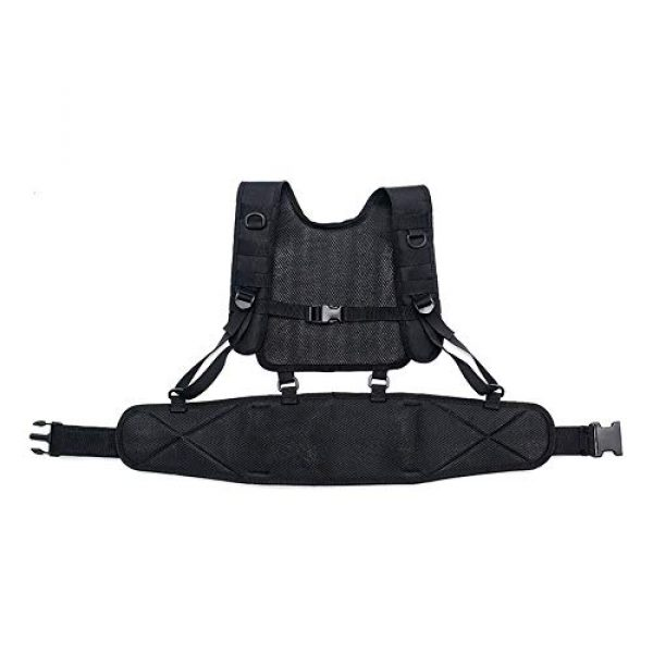 Sunny Airsoft Tactical Vest 4 Outdoor Sports Airsoft Gear Molle Pouch Bag Carrier Camouflage Combat Assault Molle Vest Tactical Chest Rig